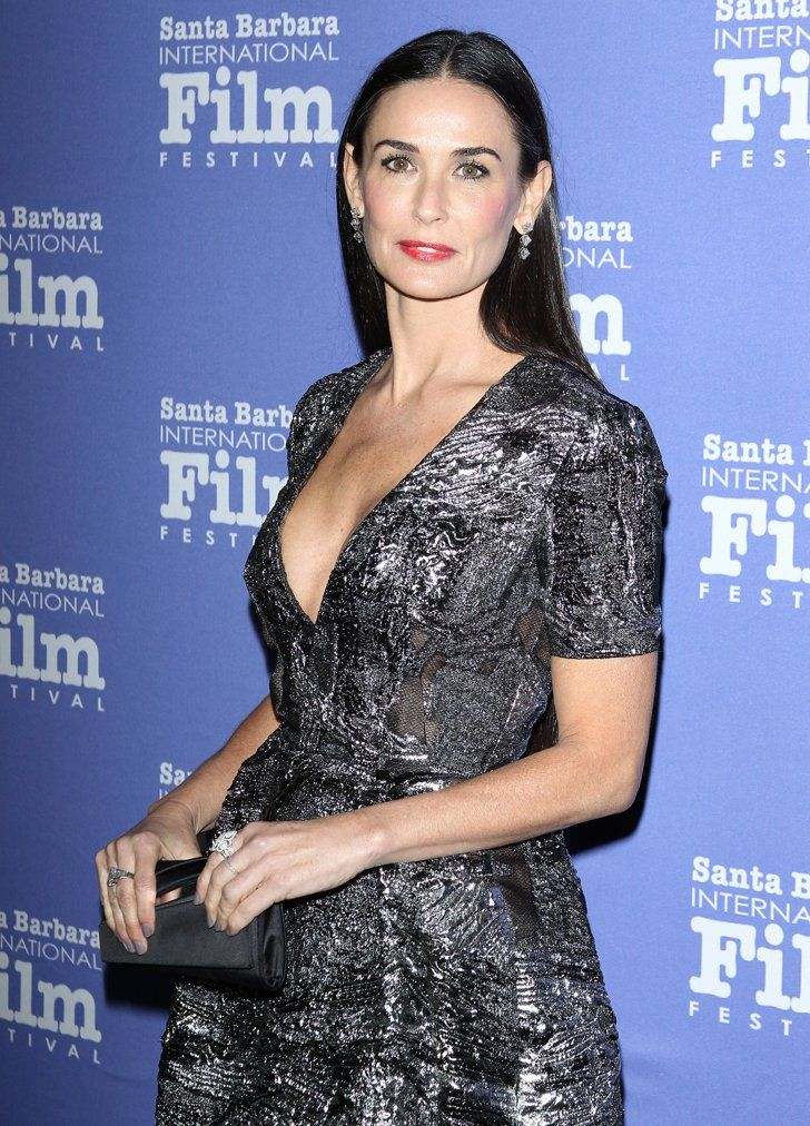 Pin for Later: All the Lucky Ladies Who Have Ever Dated Brad Pitt Demi Moore Demi reportedly had a very brief fling with Brad in 1998.