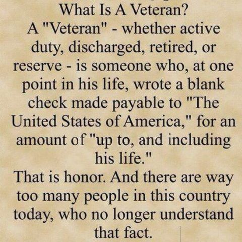What Is A Veteran ?