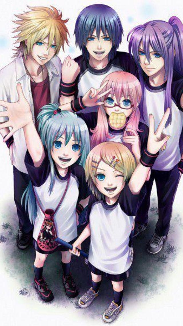Y is len taller than rin if they r twins?? ☆☆☆☆☆☆☆☆☆☆☆☆☆☆ Vocaloid Kagamine Len, Kaito, kamui gakupo, Hatsune Miku, Megurine Luka, Kagamine Rin