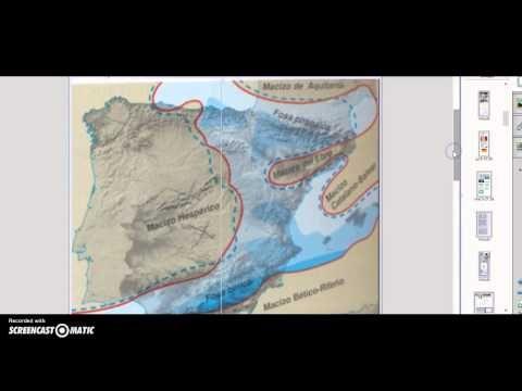 Evolución geológica de la Península Ibérica - YouTube
