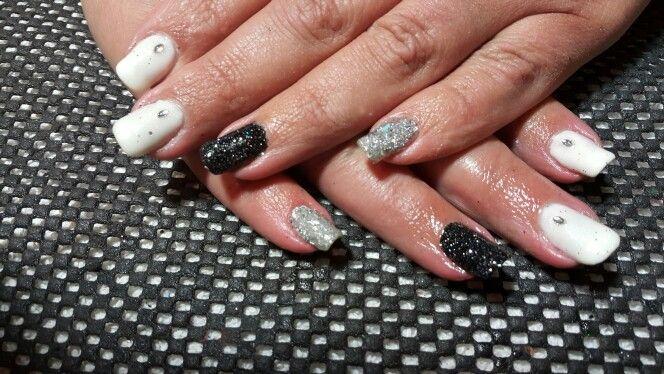 Black, white and bling