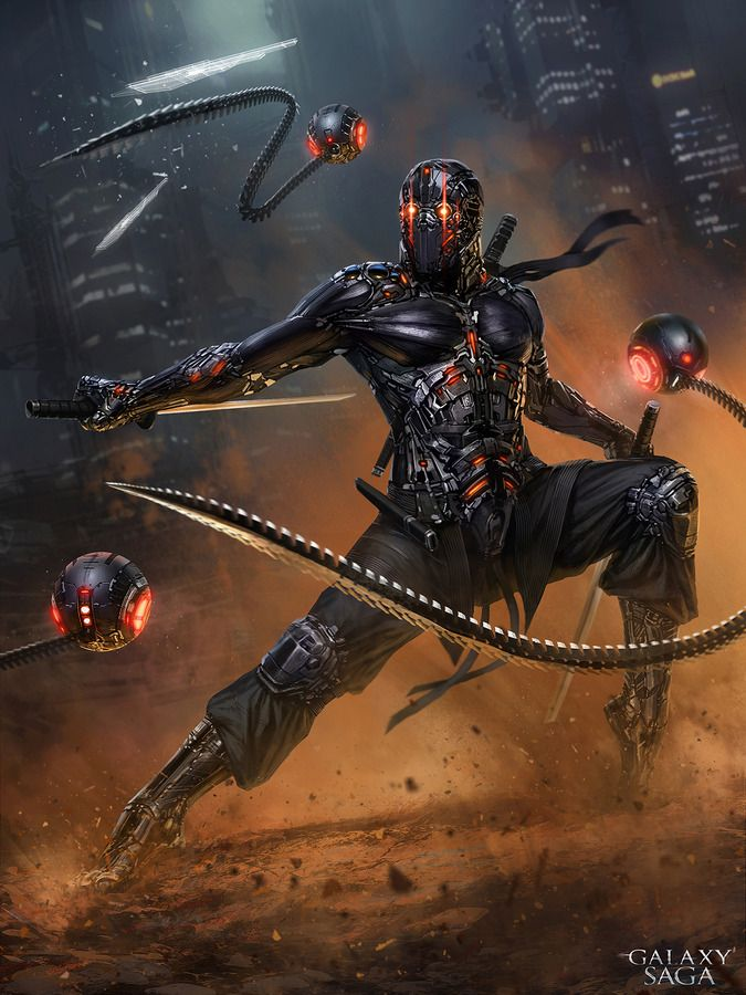 Shamash Ninja- Advanced version by Vlad_MRK Nice touch with the trousers