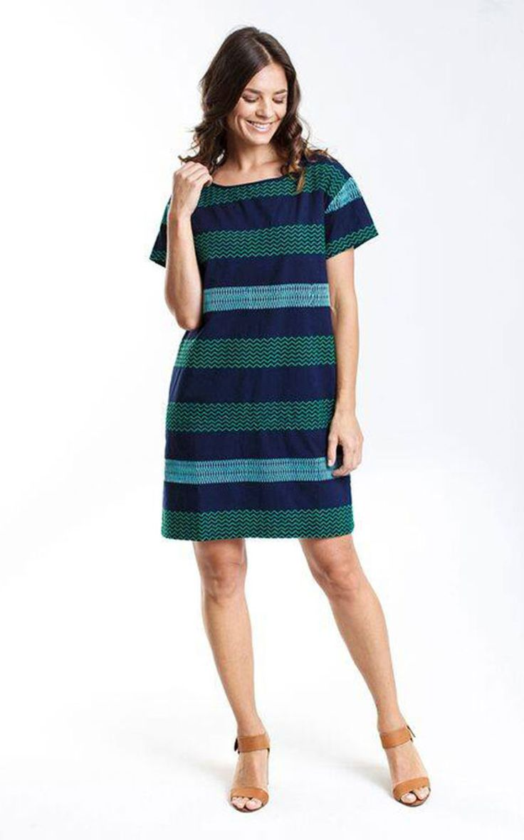 ELM - Colourist Shift Dress Navy  #alittleshopnz