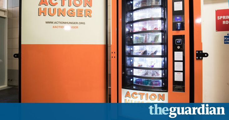 Nottingham shopping centre hosts machine carrying free food and other essentials for those with special keycard