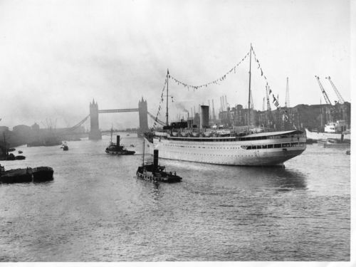 LONDRES PAQUEBOT Stella Polaris Le luxueux paquebot de croisière rebaptisé