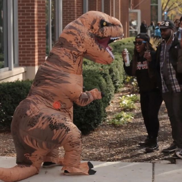 (1) Fancy - Inflatable T-Rex Costume