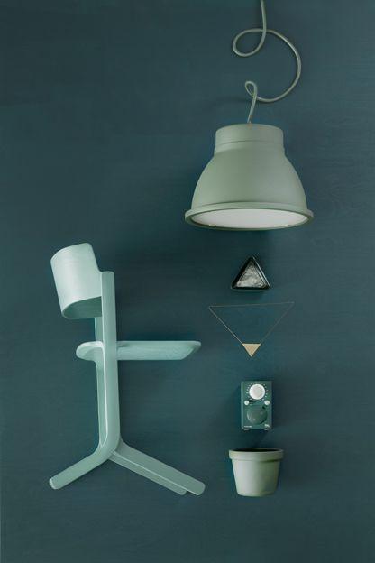 Green blue and petrol. Styling Susanna Vento | Deko
