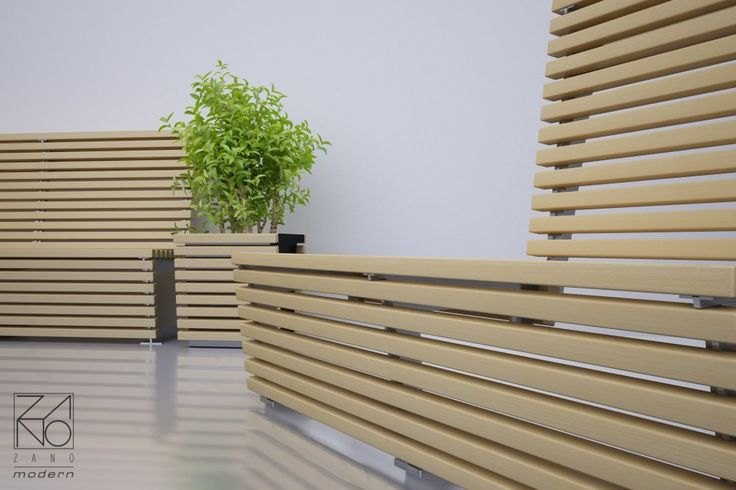 Some nice visualization of flash line street furniture and original planter with board - section decoration...