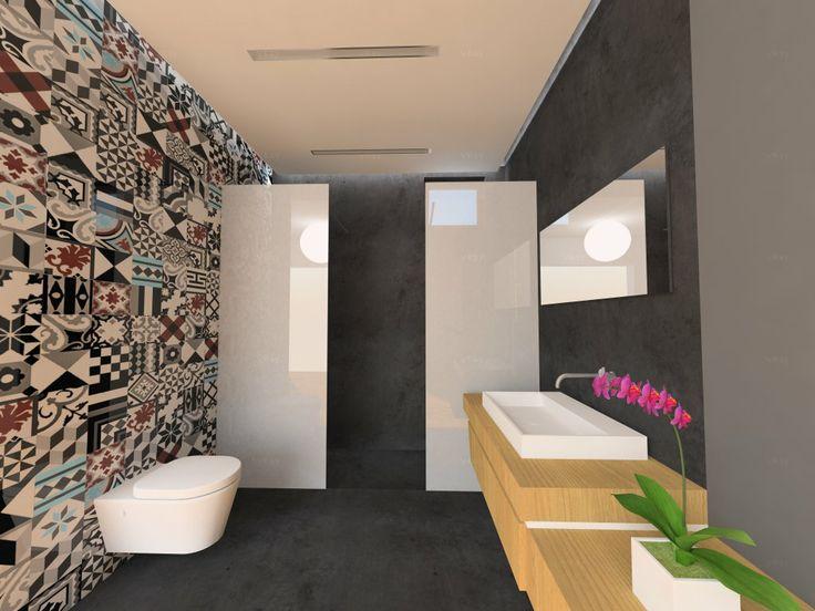 Patchwork Project Tiles/Bathroom https://www.facebook.com/tsourlakistiles http://www.tsourlakistiles.gr/