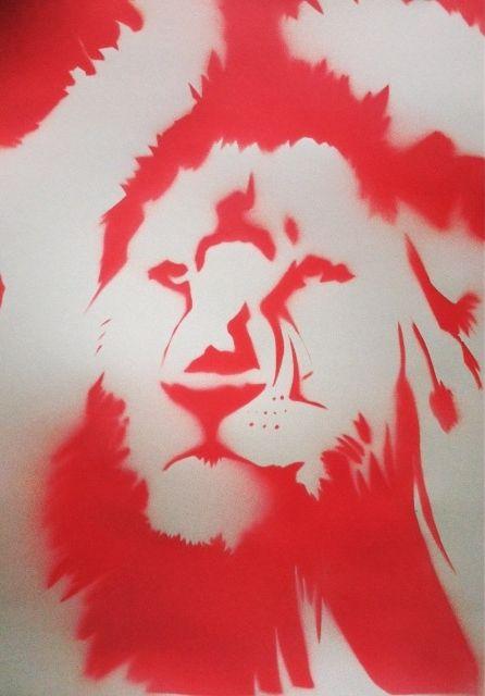 #art #arte #kunst #illustratie #illustration #graff #graffiti #graffitiart #sprayart #streetart #lion #leeuw #nature #natuur #red #rood