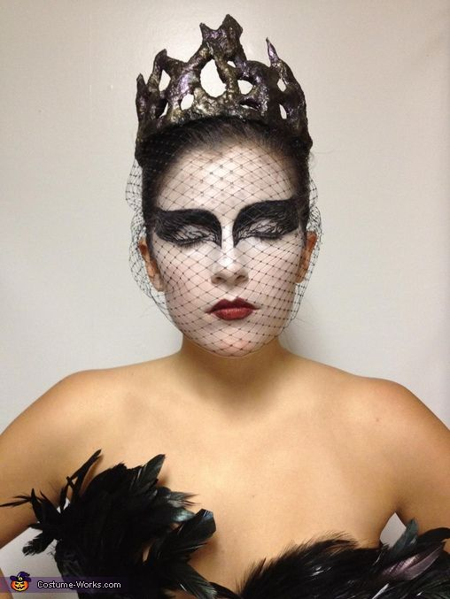 makeup!!!. Black Swan - Homemade costumes for women lol just wondering if my friend and I did this for Halloween haha!