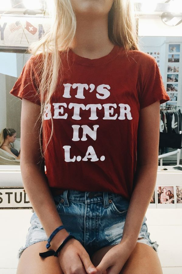 i wanna go to la, but specific places that we havent been to before but also places we HAVE been to