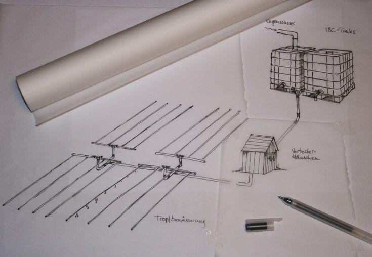 BewässerungssystemAls Basis haben wir das Kleingarten Kit von Netafim für das Bewässerungssystem gewählt und nach unseren Bedürfnissen ergänzt, teilweise auch mit Verbindungsstücken von Hornbach