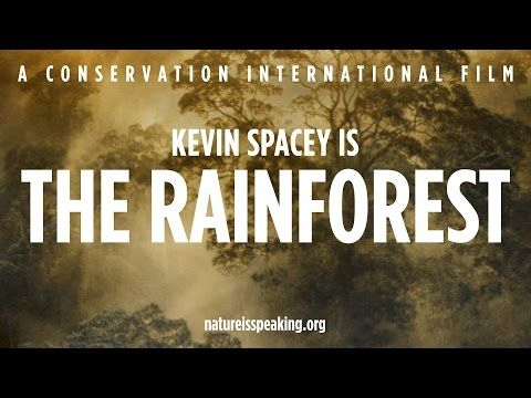 Kevin Spacey Is the Rainforest, Julia Roberts is Mother Nature: Actors Play Nature in Environmental Shorts  via`tko Open Culture