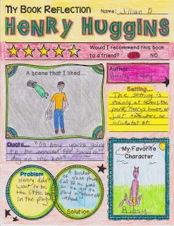 Book Club: Henry Huggins Final Projects!