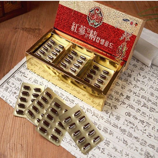 6-YEARS KOREAN HEAVEN RED GINSENG SOFT CAPSULE (180Caps) / Vigor  recovery   #KOREAHEAVENREDGINSE