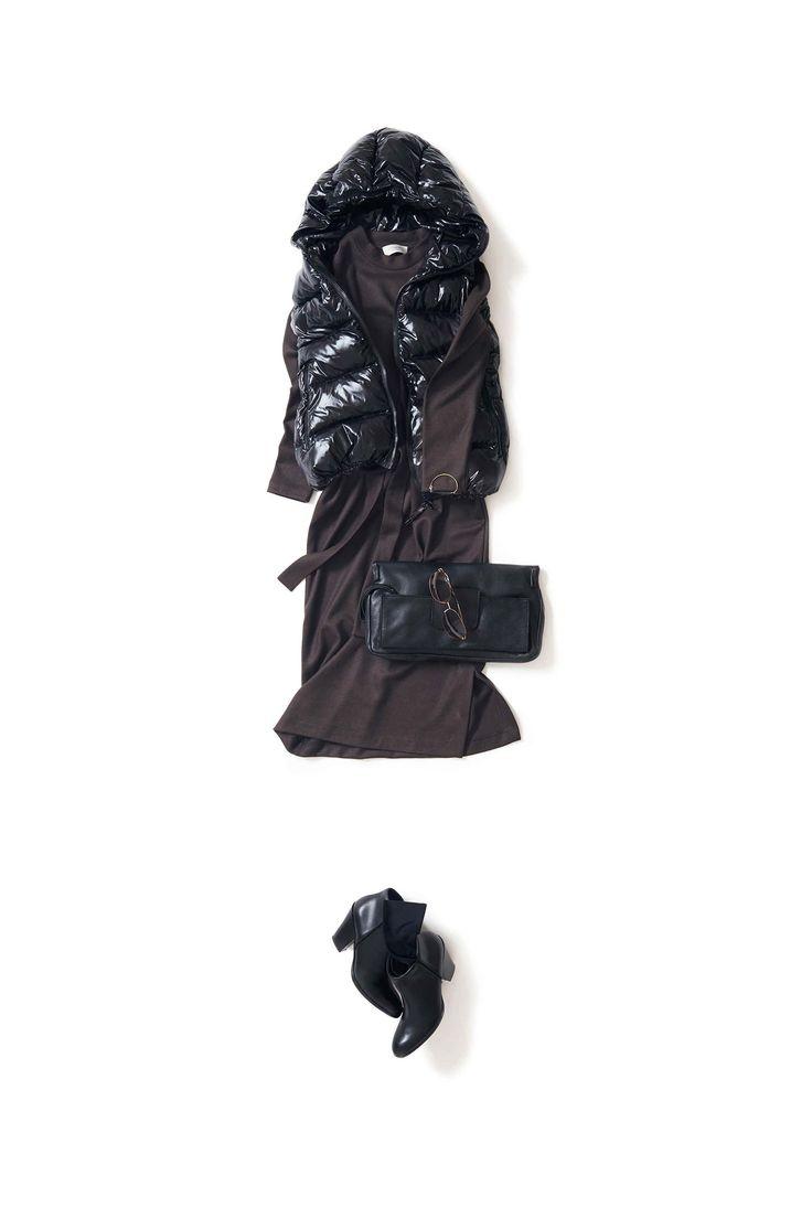 2016-10-26  スポーティーにカッコよく着るワンピ  | dress VONDEL/FUN Inc. | SHOES GIUSEPPE ZANOTTI