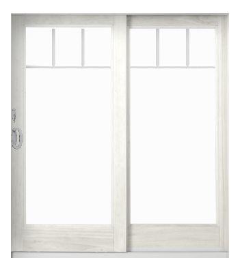 Best 25 sliding patio doors ideas on pinterest beach for Sliding glass doors that look like french doors