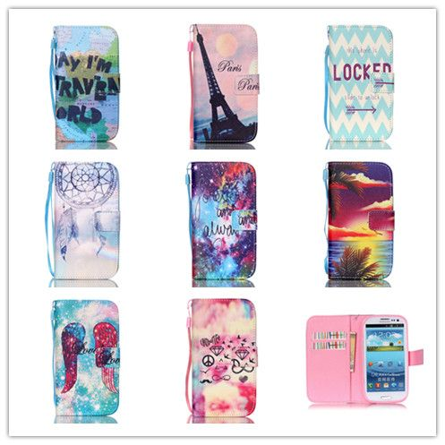 For Samsung Galaxy S3 Case Luxury Wallet PU Leather Flip Case For Galaxy S3 Cover Magnetic Case For Galaxy S3 Cover i9300 Case