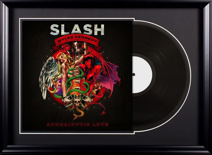 Slash - Apocalyptic Love - Vintage Album Deluxe Framed