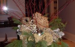 Christmas Outdoor Planter Arrangements Dramatic Indoor Holiday Arrangement | Patinaandcompany