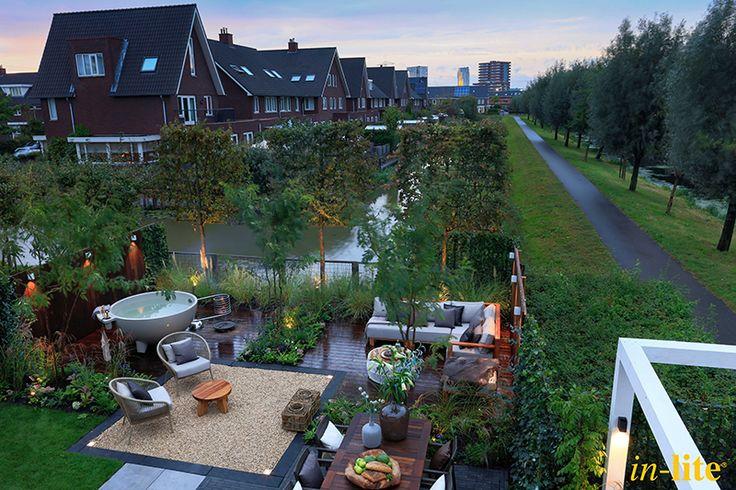 Luxe Familietuin   Eigen Huis & Tuin   Tuinverlichting   12V   Tuininspiratie   Garden   Outdoor Lighting   in-lite