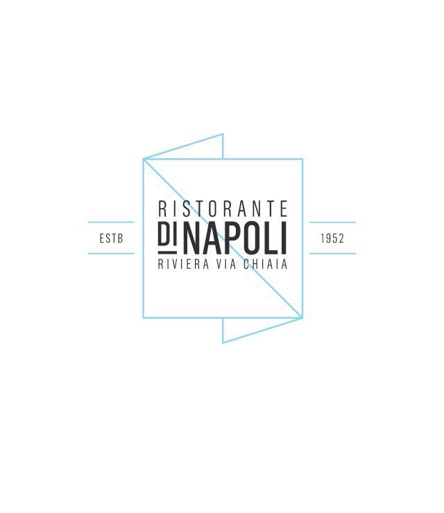 Di Napoli / Faust: Visual Identity, Napoli Identity, Logos Fre, Logos Italian, Restaurant Identity, Types Identity, Faust Restaurant, Identity Logos Branding, Restaurant Logos Design