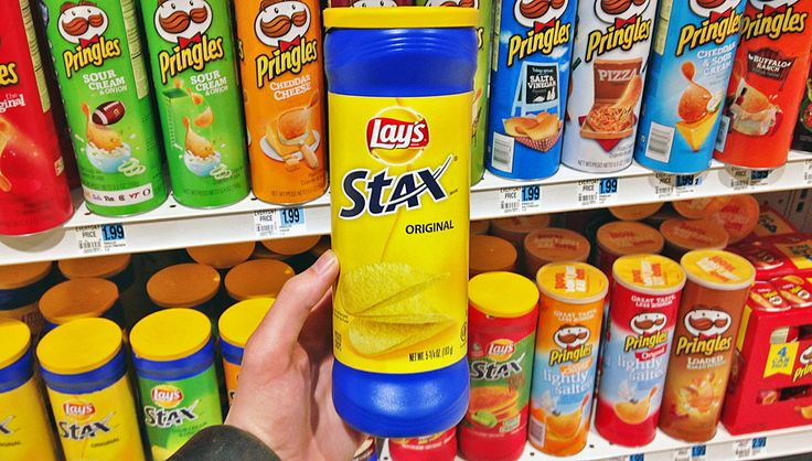 Lay's Stax, Only $1.00 at Rite Aid - No Coupons!