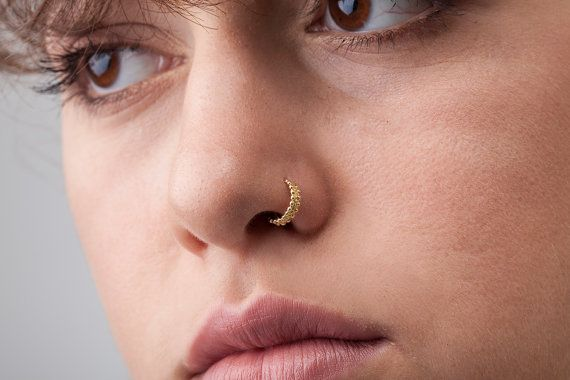 Nose Cuff Indian Solid 14k Gold Nostril Ring Your Nose Is The Forefront Of Your Facade Nose Jewelry Is The First Body Ad Nose Jewelry Nose Ring Tragus Cuff