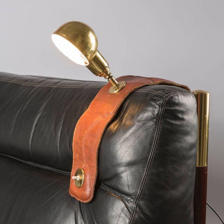 Armchair Lamp LP01 by Luigi Caccia Dominioni for Azucena | From a unique…