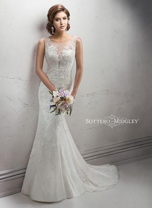 1000 ideas about sheath wedding gown on pinterest for Simply elegant wedding dresses