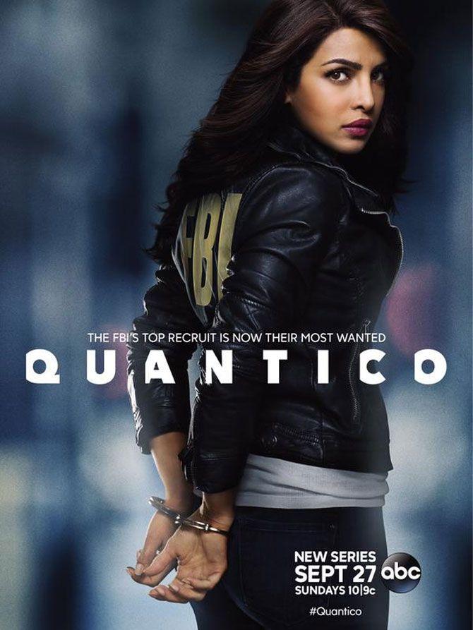 Priyanka Chopra unveils official poster of 'Quantico'.