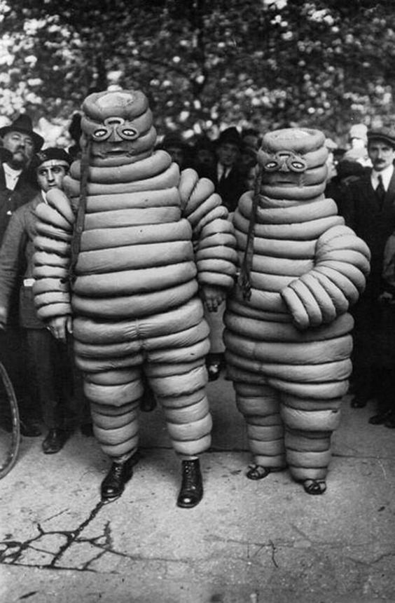 Vintage Michelin Man Halloween Costume
