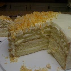 Fresh Coconut Layer Cake | Yummy food ideas | Pinterest
