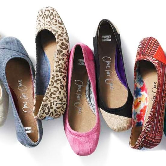 Spring 2012...TOMS introduces Ballet Flats! Yep I know what I will be spending all my doe on!