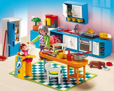 Playmobil 5329 Grand Mansion Kitchen   New, Sealed