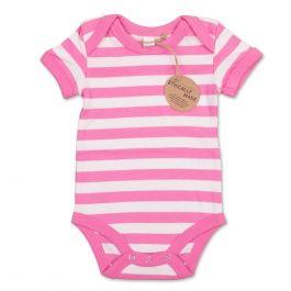 Unser Klassiker - Aus unserer eigenen fair produzierten Babymode Kollektion im Bubble Gum Pink :-)