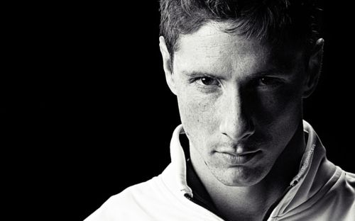 Fernando Torres, he's my husband, and he's #9 for Spain. We got married during the Euro Cup in '08