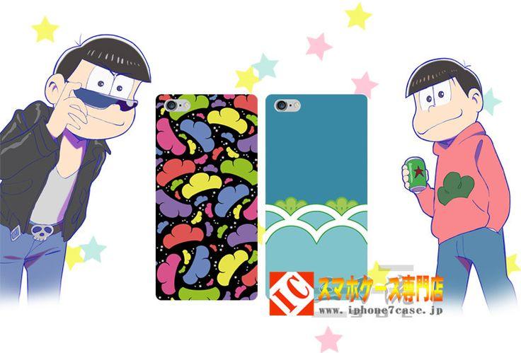 アニメ「おそ松さん」制服漫画スマホケースiphone567plusアイフォン携帯カバーgalaxy S7/s6 Edge