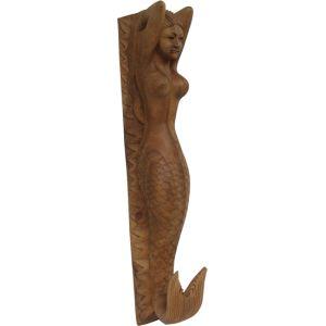 Sirène de proue - Sculptées à la main, ces reproductions de figures de proue sont uniques et en série limitée.  Située à l'avant du navire sous le beaupré, ces figures représentaient une sirène, un guerrier ou un animal évoquant souvent le nom du navire et son identité.