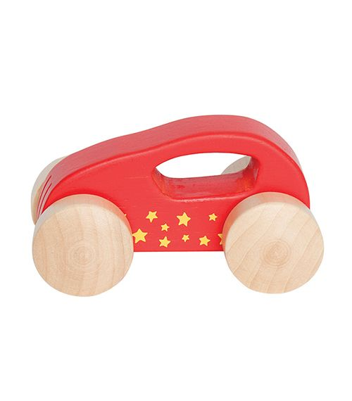 Little Auto Red From Hape from The Wooden Toybox