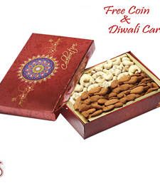 Buy Festive Box with Cashew and Almonds  diwali-dry-fruit online