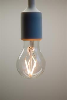 Lysglede 2W A19 2200K E27 LED-pære