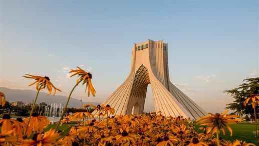 Azadi Tower inTeheran, Iran - KILROY #travels #architecture #kilroy #Teheran #monument #iran