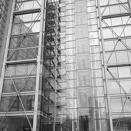 Material Matters: Glass #glass #london  #richard #rogers #architect # glazing #facade #transparent #reflective #technical #high #tech
