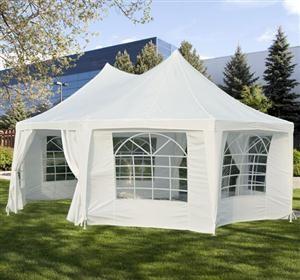 [USD $379.99]Outsunny 22 x 16 Large Octagon 8-Wall Party Canopy Gazebo & The 25+ best Gazebo tent ideas on Pinterest | Large gazebo Party ...