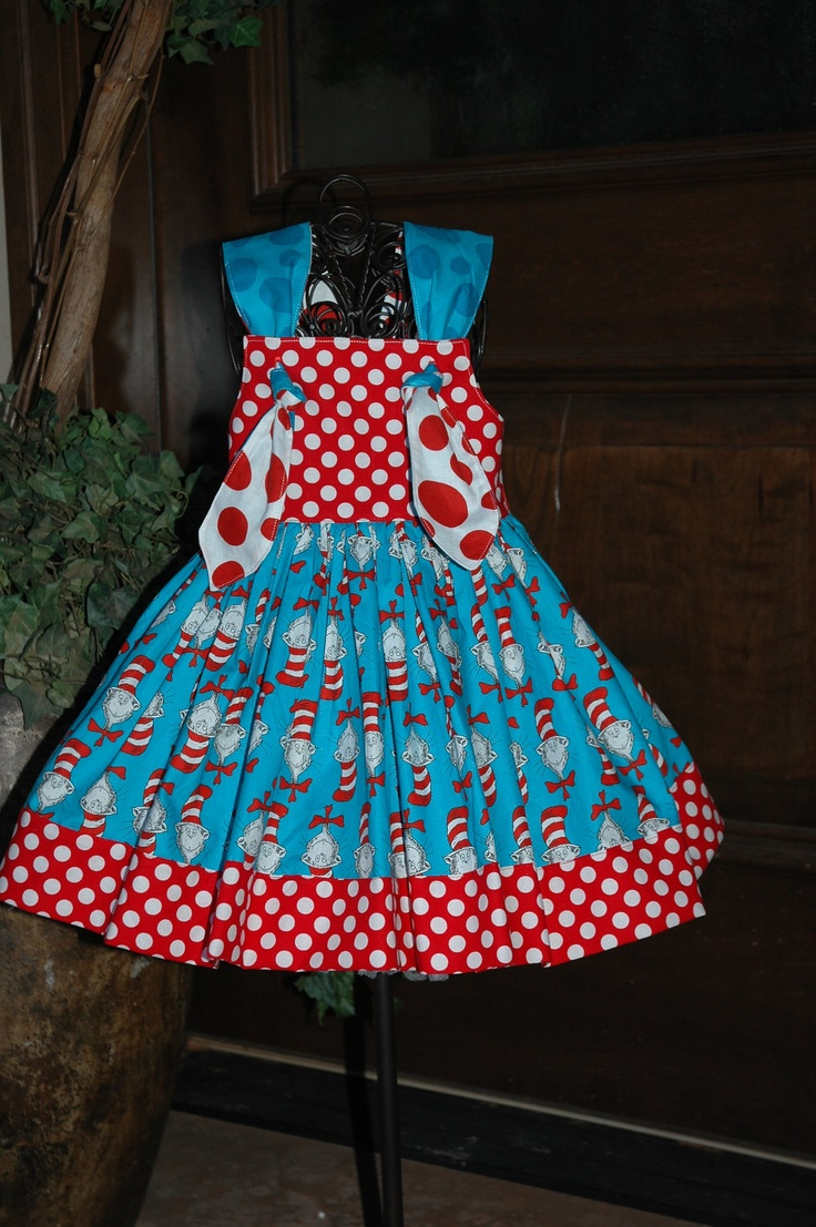 9 best cat in the hat dress images on Pinterest | Baby boutique, Dr ...