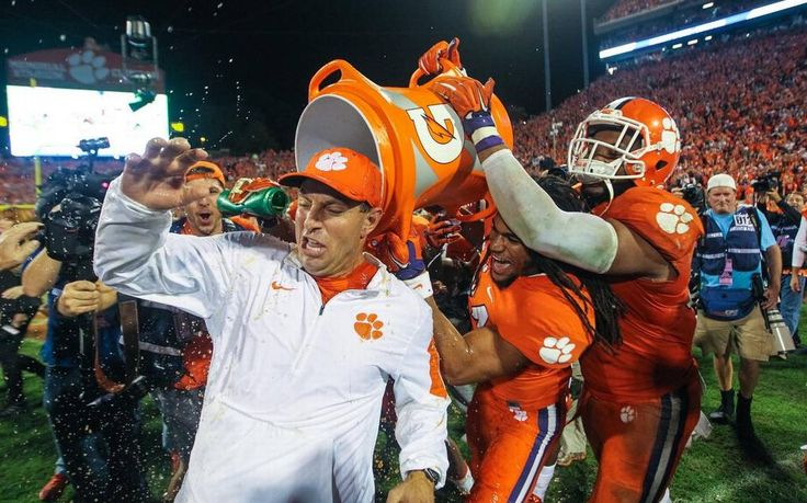 The Clemson football team held onto its No. 1 ranking in the College Football playoff. The Tigers were also on top last week, the first rankings of the season.