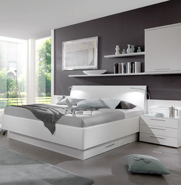 schlafzimmer wei. Black Bedroom Furniture Sets. Home Design Ideas