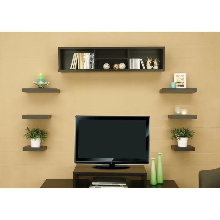 Wooden Tv Wall Shelf - Home & Furniture Design - Kitchenagenda.com